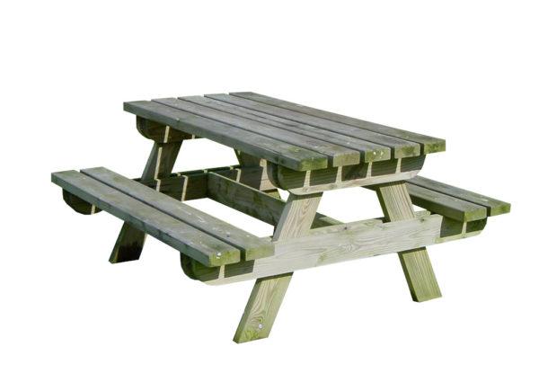 table bois pique nique