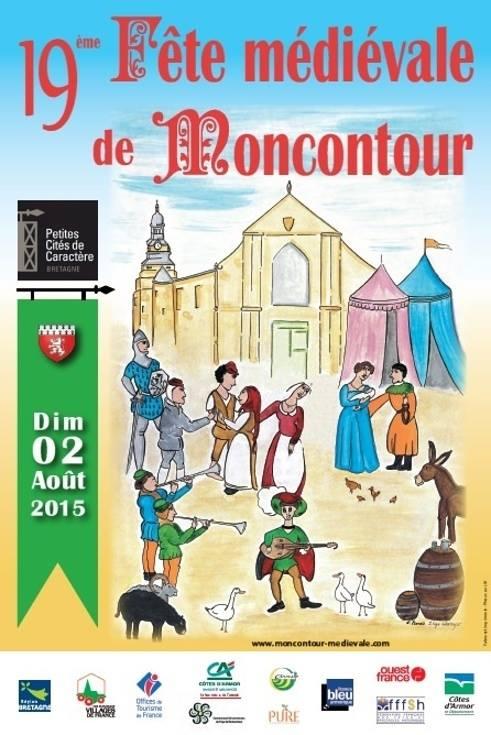 Fête médiévale de Moncontour 2015