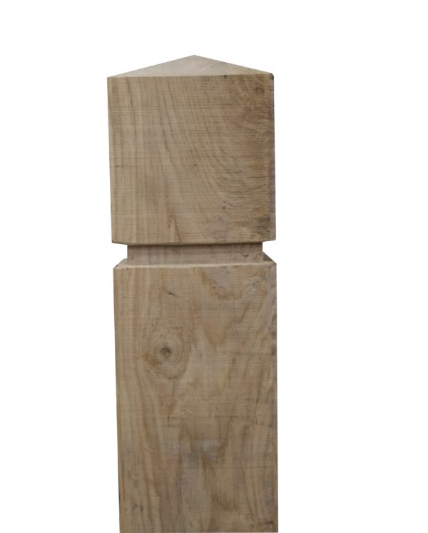 tête de poteau bois
