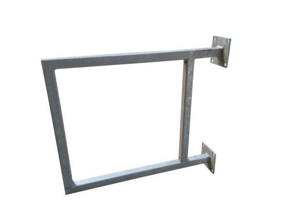 structure enseigne acier galvanisé